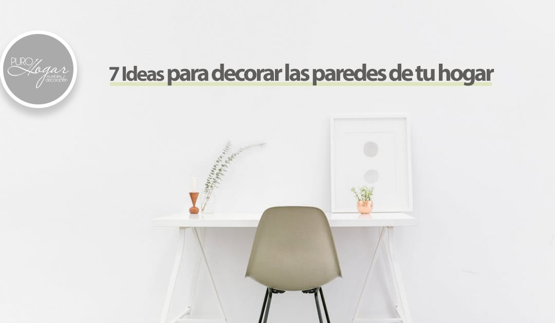 Ideas para decorar paredes hogar decoracion